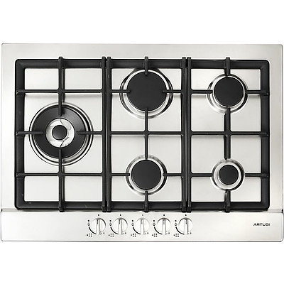 Artusi AGH70XFFD 70cm Stainless Steel Gas Cooktop - RRP Over $600 - Brand New