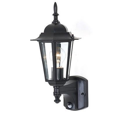Mercator MX4011/SEN Black Tilbury Outdoor Wall Lights - Lot of 2 - Brand New
