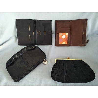 Assorted purses (Evening Wallet & Travel)