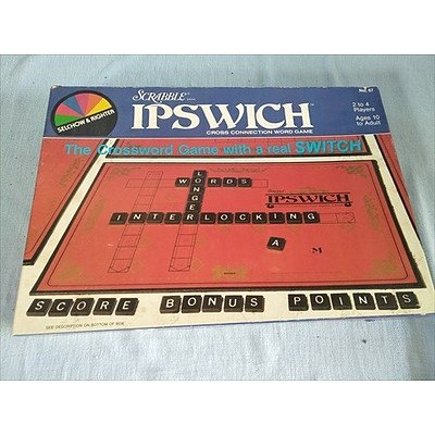 Scrabble Ipswitch Cross Connection Word Game: The Crossword Game with a Real Switch