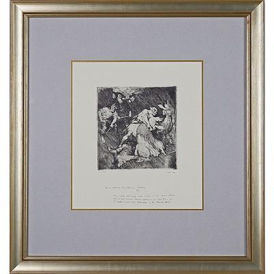 Norman Lindsay (1879-1969) Pirates Captives, Facsimile Etching Edition 466/550