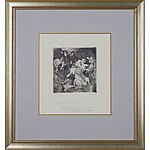 Norman Lindsay (1879-1969) Pirates Captives, Facsimile Etching Edition 466/550