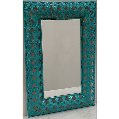 Ornate Rustic Wall Mirror