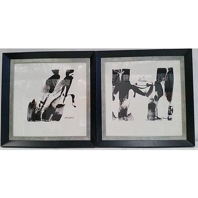 Nuance Framed Prints - Lot of Two