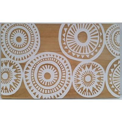 Abstract Veneer Carving