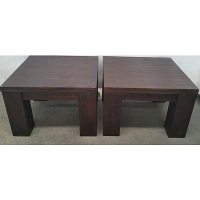 Substantial Occasional Tables - Lot of Two