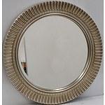 Ornate Round Wall Mirror
