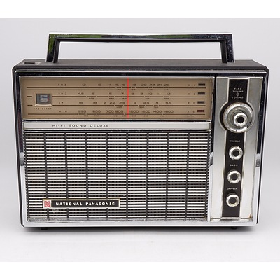 National Panasonic Model R-100B Portable Radio
