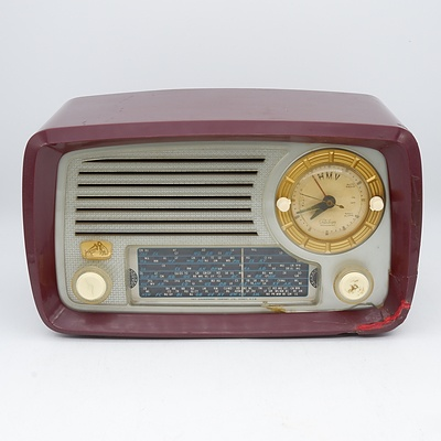 His Master's Voice Model 63-53 Valve Radio