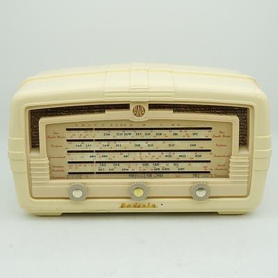 AWA Radiola Model 565MA Valve Radio