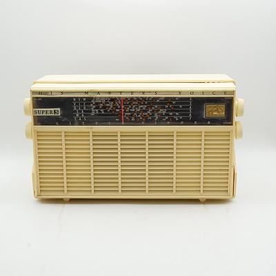 His Master's Voice Super 5 Little Nipper 65-54 Valve Radio