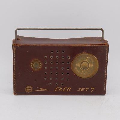 Ekco Jet 7 Portable Radio