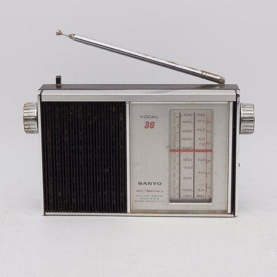 Sanyo Vocal 36 Portable Radio
