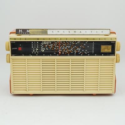 His Master's Voice Little Nipper Rangemaster Portable Radio