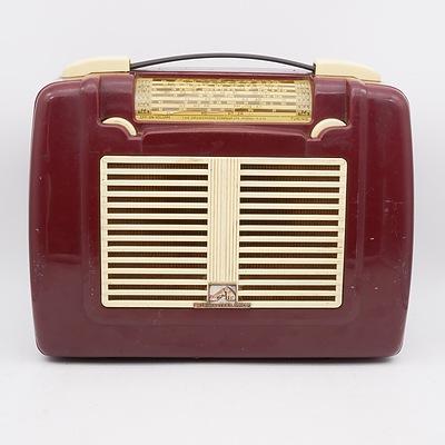 His Master's Voice Portable Radio