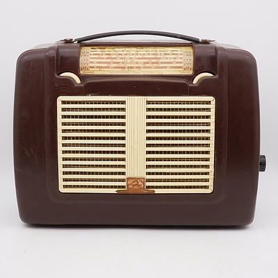His Master's Voice Portable Radio