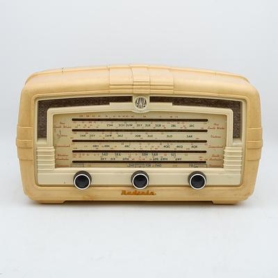 AWA Radiola Model 467MA Valve Radio
