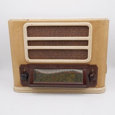 Hotpoint Band-Master Model C64M Valve Radio