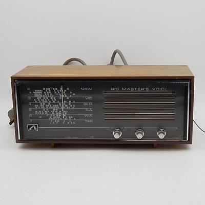 His Master's Voice 68-55 Valve Radio