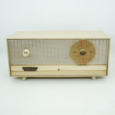Rolls Valve Radio