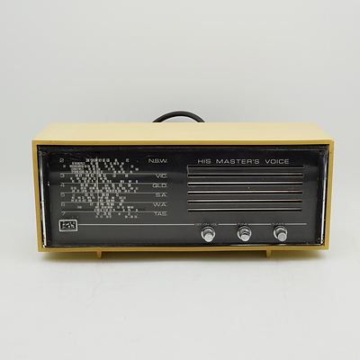 His Master's Voice 68/2-55 Valve Radio