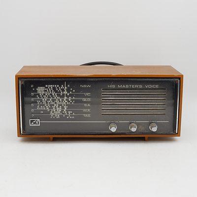 His Master's Voice Model 68-55 Valve Radio