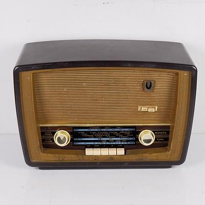 Bakelite Cased Murphy Valve Radio
