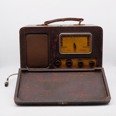 The Fisk Radiola Model R65 Valve Radio