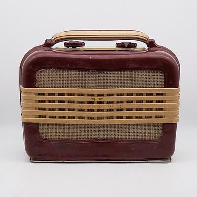 Astor Valve Radio