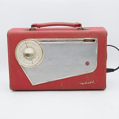 AWA Radiola Model 581PY Valve Radio