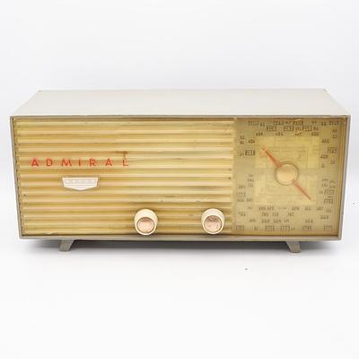 Admiral Valve Radio