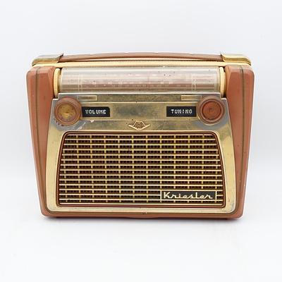 Kriesler Model 41.20 Protable Radio