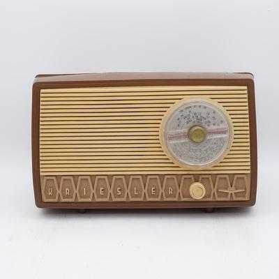 Kriesler Model 11-99 Valve Radio
