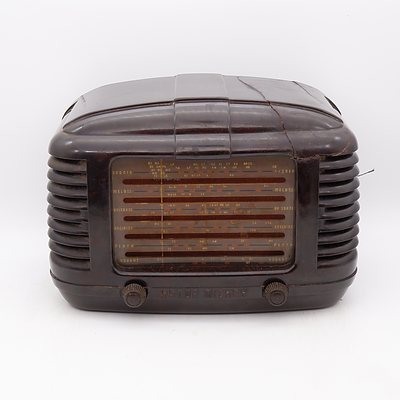 Bakelite Cased Astor Mickey Valve Radio