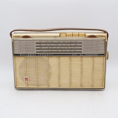 National Panasonic T-430 Portable Radio
