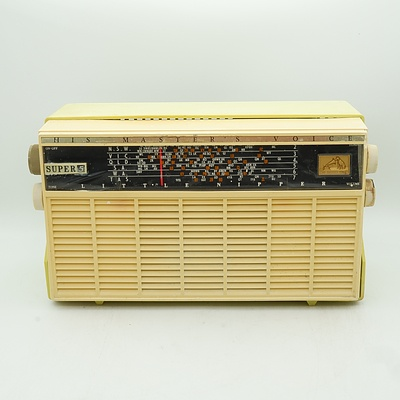 His Master's Voice Little Nipper Super 5 Valve Radio