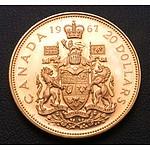 Canada Gold $20 Coin