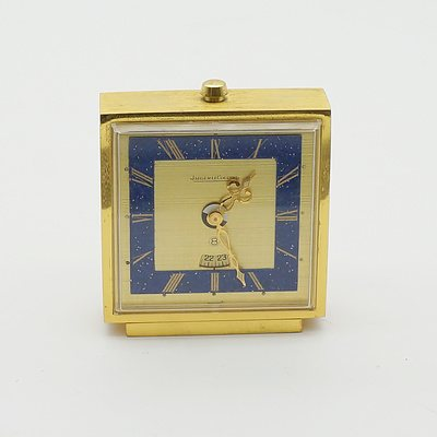 Jaeger LeCoultre Eight Day Clock and Calendar