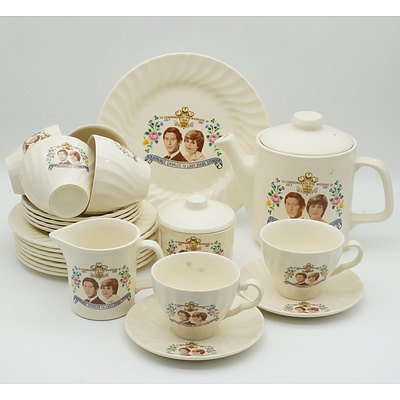 Johnson of Australia Prince Charles and Diana Tea Service for Six