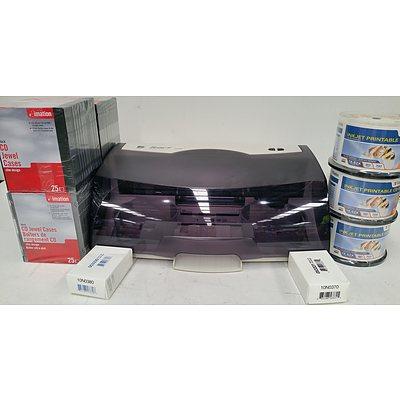 Primera Bravo II Disc Publisher and Auto Printer