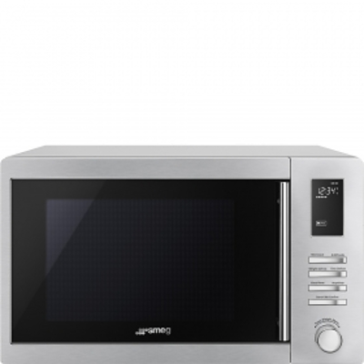 Smeg Freestanding Microwave with Grill