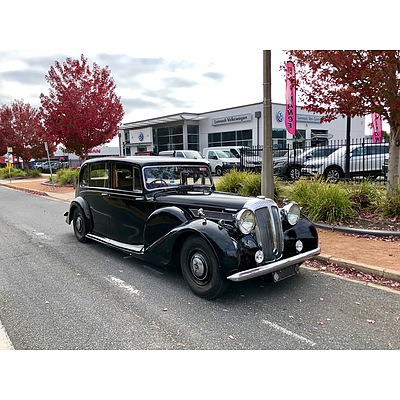 Vintage Limousine Wedding Car Hire