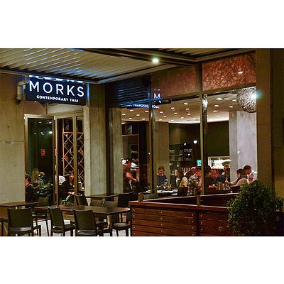 Morks Contemporary Thai Restaurant voucher worth $150