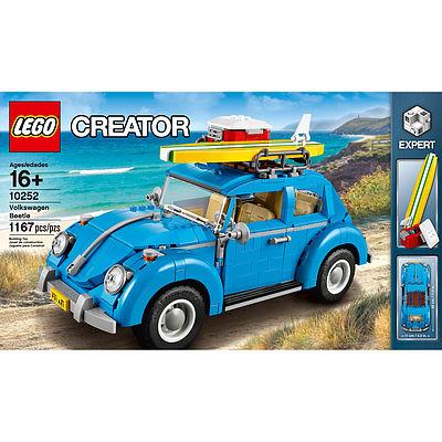 VW Beetle Lego Kit