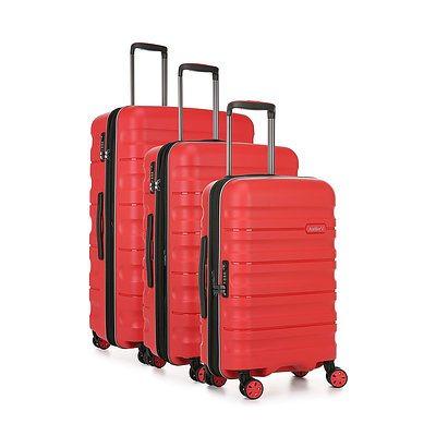 Antler 'Juno 2' Luggage set of three - Red