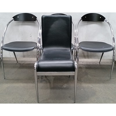 Contemporary Occasional Chairs - Lot of Four