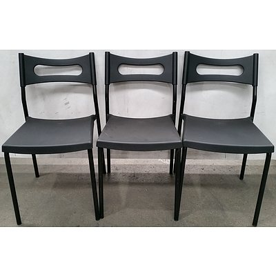 Contemporary Occasional Chairs - Lot of Three