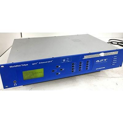 WorldNet Tokyo apt-X Enhanced apt-X Audio Codec