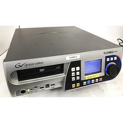 Grass Valley Turbo iDDR Intelligent Digital Disc Recorder