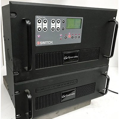 Grass Valley X-Switch Master with Expansion Module